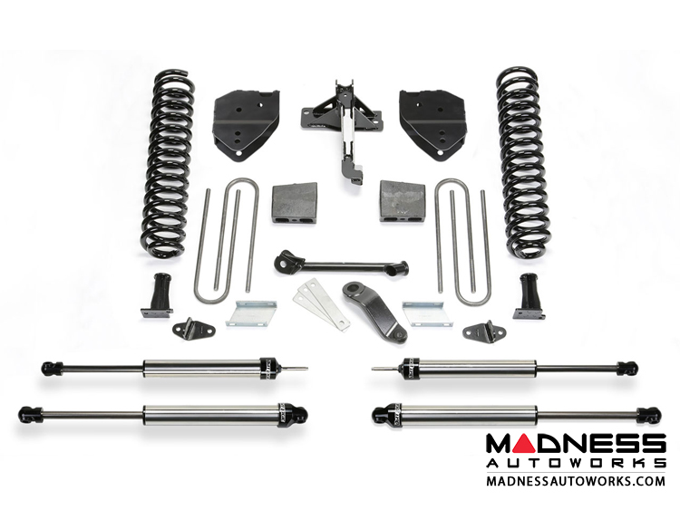 "Ford F 250/ 350 4"" Basic System w/ Dirt Logic 2.25 Shocks by Fabtech (2008 - 2016) 4WD"