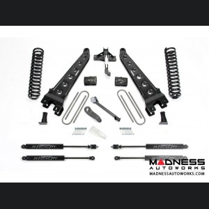 "Ford F 250/ 350 4"" Radius Arm System w/ Stealth Shocks by Fabtech (2017) 4WD"