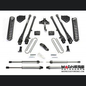 "Ford F 250/ 350 6"" 4 Link System w/ Dirt Logic Shocks by Fabtech (2017) 4WD"