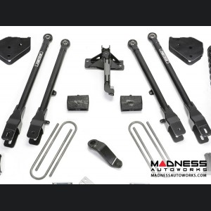 """Ford F 250/ 350 4"""" 4 Link System w/ Stealth Shocks by Fabtech (2017) 4WD"""