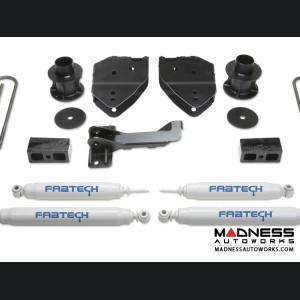 "Ford F 250/ 350 4"" Budget System w/ Performance Shocks by Fabtech (2017) 4WD"