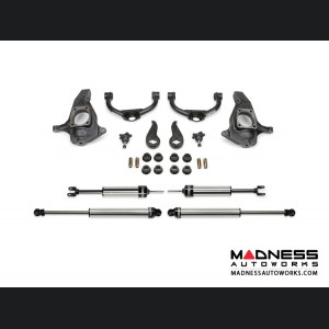 "GMC Sierra 2500/ 3500 4"" Ultimate System w/ Ball Joint UCA & Dirt Logic SS Shocks BY Fabtech (2011 - 2017) 2WD/ 4WD"
