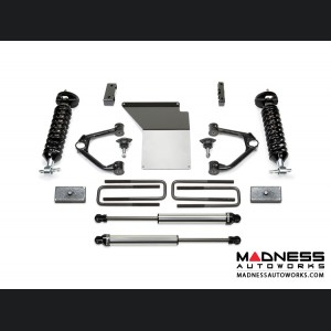 "GMC Sierra 1500 4"" Budget UCA System w/ Dirt Logic Shocks by Fabtech - 2WD/ 4WD (2014 - 2017)"