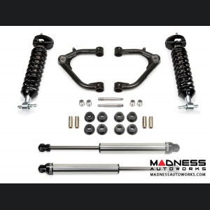"GMC Sierra 1500 2"" Uniball UCA System w/ Dirt Logic Shocks by Fabtech - 2WD/ 4WD (2014 - 2017)"