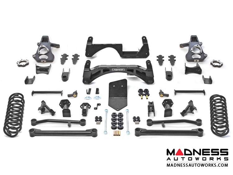 "Chevrolet Suburban K1500 SUV 6"" Basic System by Fabtech (2015 - 2017) 2WD/ 4WD"