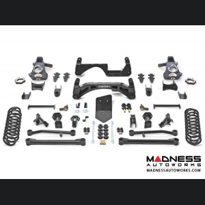 """Chevrolet Suburban K1500 SUV 6"""" Basic System by Fabtech (2015 - 2017) 2WD/ 4WD"""