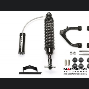 "GMC Sierra 1500 2"" Uniball UCA System w/ Dirt Logic 2.25 Resi Shocks by Fabtech - 2WD/ 4WD (2014 - 2017)"