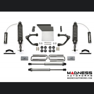 "GMC Sierra 1500 4"" Uniball UCA System w/ Dirt Logic Shocks by Fabtech - 2WD/ 4WD (2014 - 2017)"