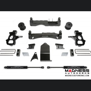 "GMC Sierra 1500 4"" Basic Cross Member System w/ Stealth Shocks by Fabtech - 2WD/ 4WD (2014 - 2017)"