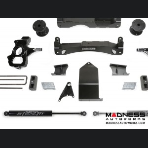 "Chevrolet Silverado 1500 4"" Basic Cross Member System w/ Stealth Shocks by Fabtech - 2WD/ 4WD (2014 - 2017)"