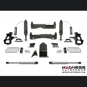 "GMC Sierra 1500 4"" Performance Cross Member System w/ Dirt Logic Resi Shocks by Fabtech - 2WD/ 4WD (2014 - 2017)"