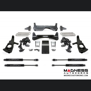 "GMC Sierra 3500 6"" RTS System w/ Stealth Shocks by Fabtech - 2WD/ 4WD (2011 - 2017)"