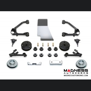 """Chevrolet Suburban K1500 SUV 4"""" Budget System by Fabtech (2015 - 2017) 2WD/ 4WD"""
