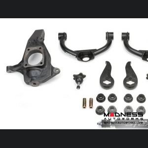 """Chevrolet Silverado 2500/ 3500 4"""" Ultimate System w/ Ball Joint UCA & Stealth Shocks by Fabtech (2011 - 2017) 2WD/ 4WD"""