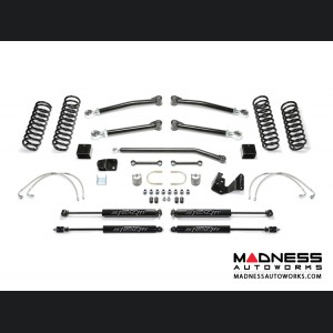 "Jeep Wrangler JK Trail II System w/ Stealth Shocks  - 3"" - 4 Door (Short Arm)"