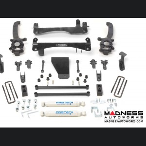 """Nissan Frontier 6"""" Basic System w/ Performance Rear Shocks by Fabtech (2006 - 2015) 2WD/ 4WD"""