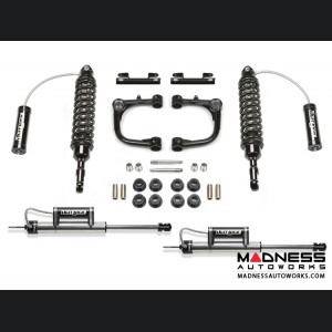 "Toyota FJ Cruiser 3"" Upper Control Arm System w/ Front Dirt Logic SS 2.5 Coilover Resi & Rear Dirt Logic SS Resi Shocks by Fabtech - 4WD (2010 - 2013)"