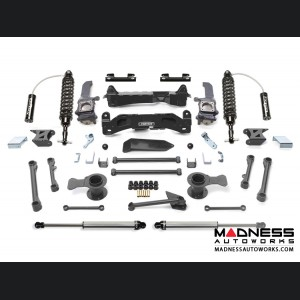 """Toyota FJ Cruiser 6"""" Performance System w/ Dirt Logic 2.5 Front Resi Coilovers & Rear 2.25 Shocks by Fabtech (2010 - 2013) 2WD/ 4WD"""