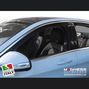 Mercedes Benz C-Class Sedan Side Window Air Deflectors by Farad - (2014+)