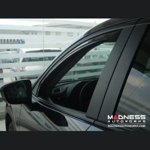 Mazda CX-5 Side Window Air Deflectors by Farad - (2012+)