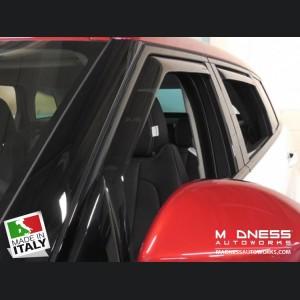Land Rover Range Rover Evoque Side Window Air Deflectors by Farad - (2011+)