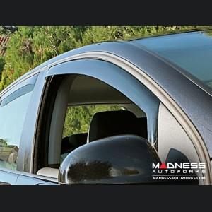 Jeep Cherokee Side Window Air Deflectors by Farad - (2013+)