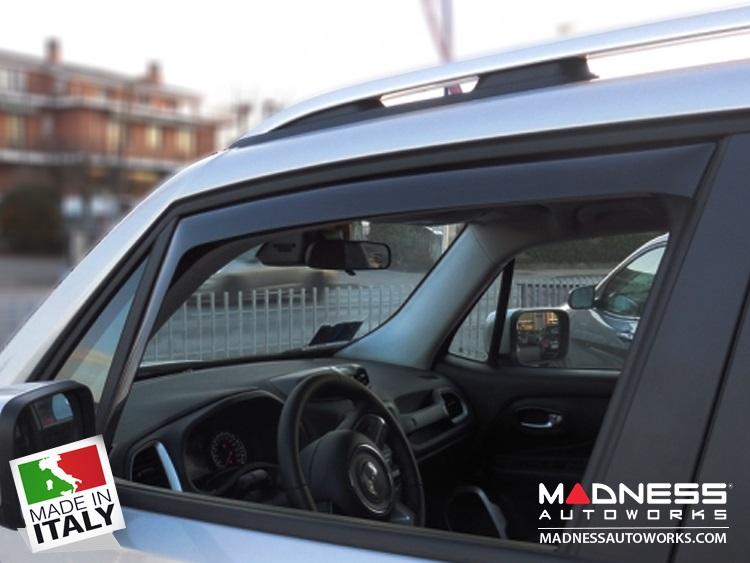 Jeep Jeep Renegade Side Window Air Deflectors By Farad