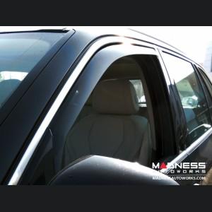 BMW X5 Side Window Air Deflectors by Farad - (E70) (2007-2013)