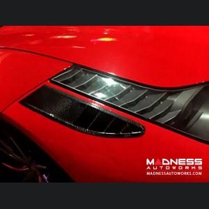 Ferrari 458 Front Bumper Air Intake - Carbon Fiber - Set