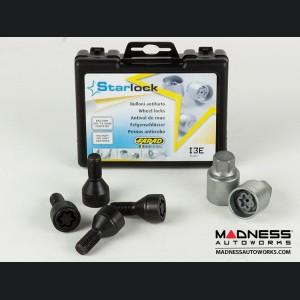 BMW Wheel Locks by Farad - Black - M12x1.5 - Starlock