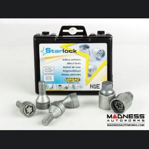 BMW Wheel Locks by Farad - Silver - M14x1.25 - Starlock