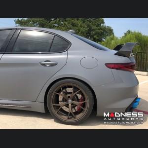 Alfa Romeo Giulia Trunk Spoiler - GTAm Style - 100% Carbon Fiber - Forged Carbon Weave
