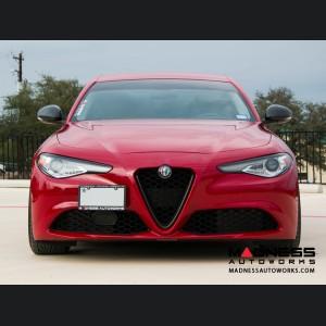 Alfa Romeo Giulia Headlight Trim Kit - Carbon Fiber