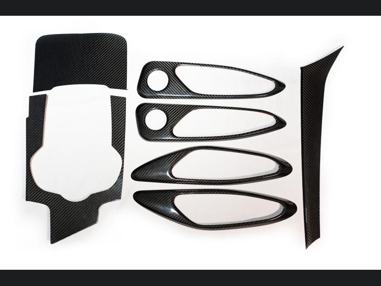 Alfa Romeo Giulia Complete Interior Trim Kit - Carbon Fiber