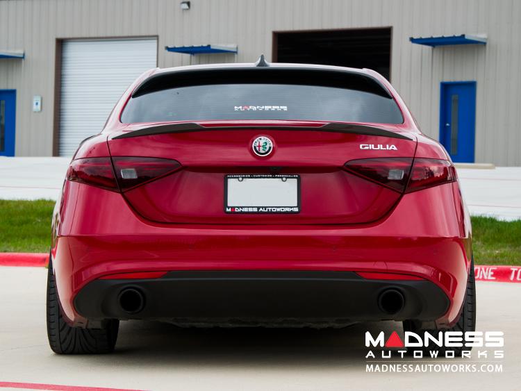 Alfa Romeo Giulia Roof Spoiler Carbon Fiber Madness Autoworks