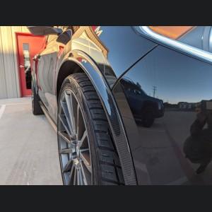 Alfa Romeo Stelvio Fender Trim - Carbon Fiber - Feroce
