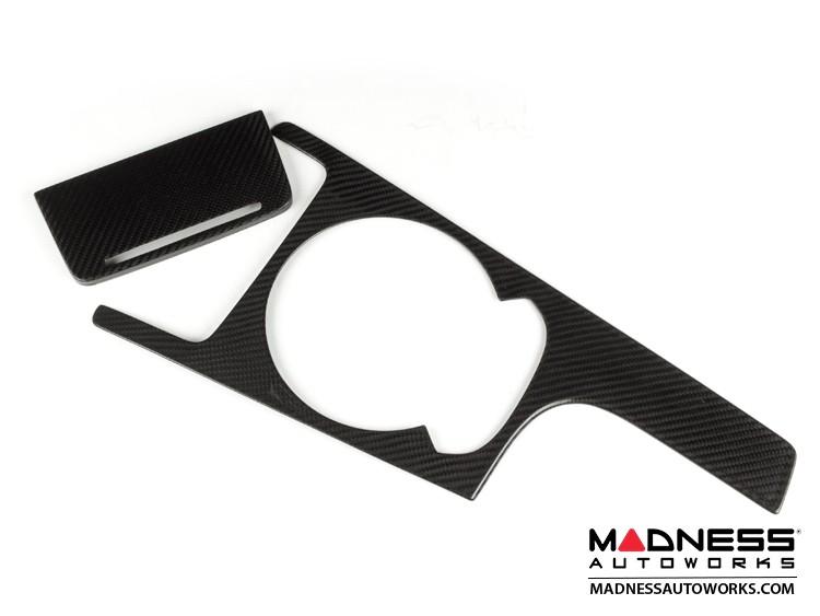 Audi TT Center Console and Ashtray Trim Cover by Feroce - Carbon Fiber