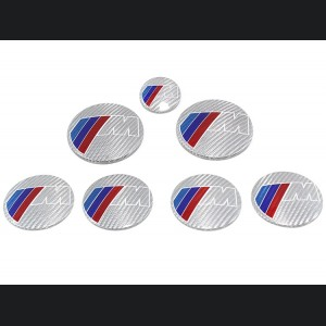 BMW M-Power Badge Cover Kit by Feroce - Alutex