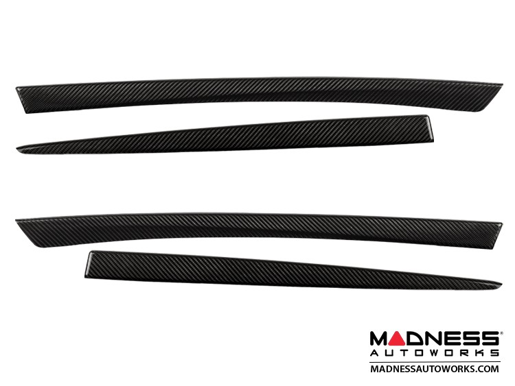BMW F10 / F11 Inner Door Trim Covers by Feroce - Carbon Fiber