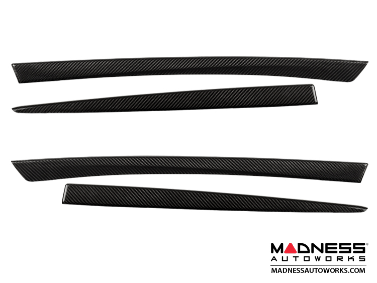 BMW F10 / F11 Inner Door Trim Covers by Feroce - Carbon Fiber