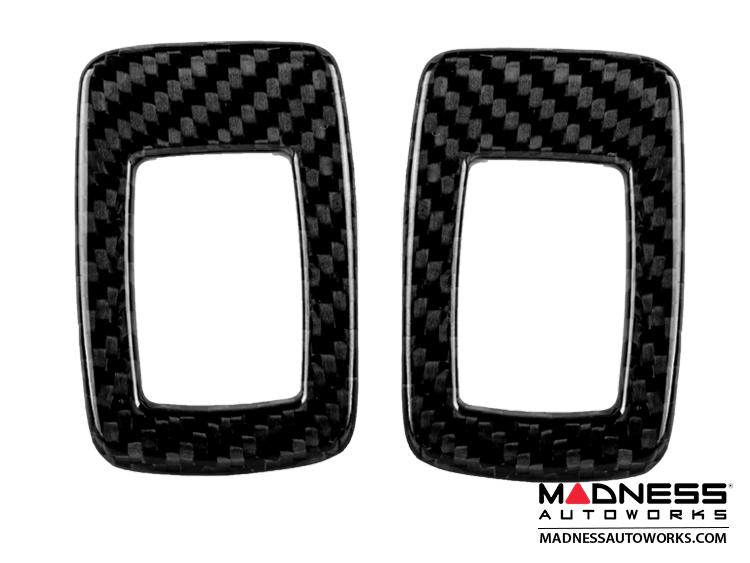 BMW Window Switch Covers by Feroce - Carbon Fiber