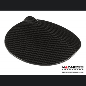 BMW E81/E87 1 Series Fuel Tank Cover by Feroce - Carbon Fiber