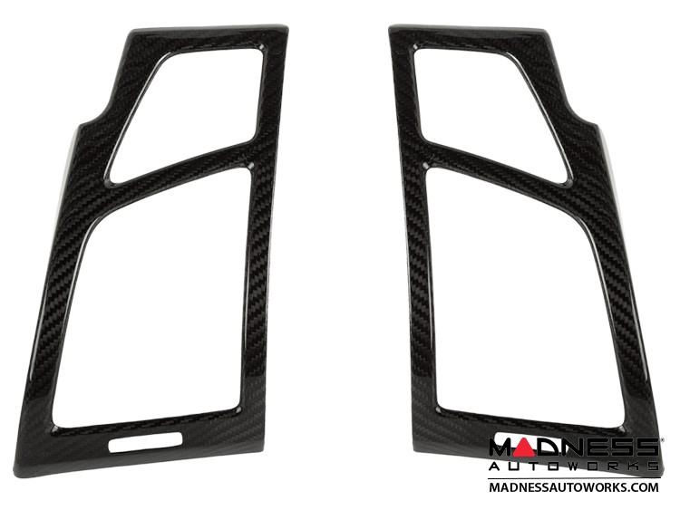 BMW E81/ E87/ E88/ E82 1 Series Fresh Air Vent Cover by Feroce - Carbon Fiber