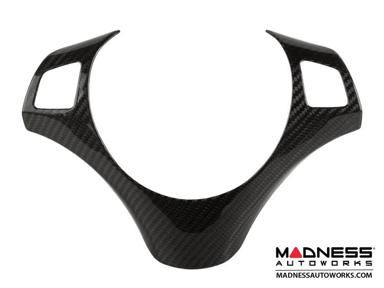 BMW E87/ E81 1 Series Steering Wheel Cover for Multi-Function Steering Wheel by Feroce - Carbon Fiber