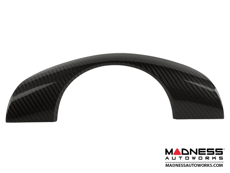 BMW E46 3 Series Steering Wheel Cover by Feroce - Carbon Fiber - Without Buttons