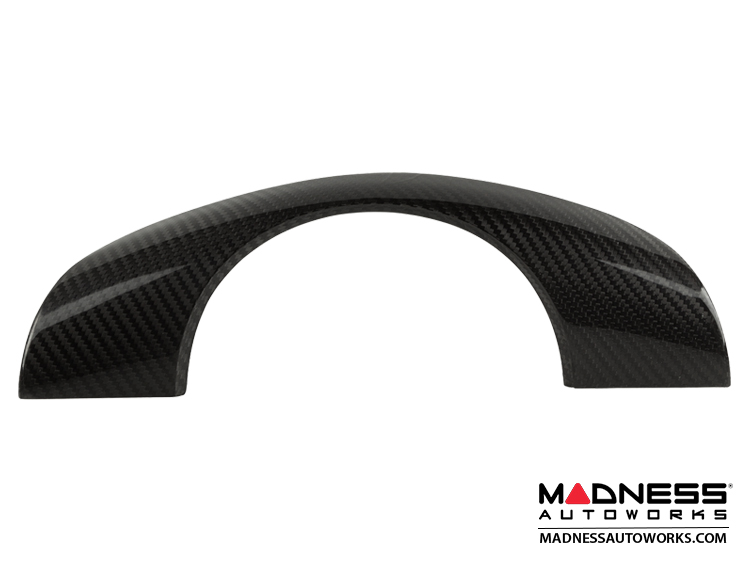 BMW E39 5 Series Steering Wheel Cover by Feroce - Carbon Fiber - Without Buttons