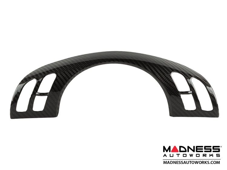BMW E46 3 Series Steering Wheel Cover by Feroce - Carbon Fiber - With Buttons
