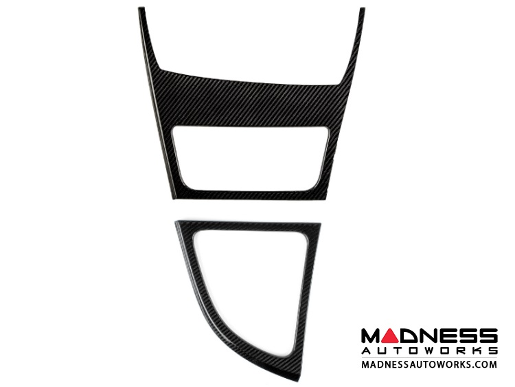 BMW Center Console and Gear Shifter Trim Covers by Feroce - Carbon Fiber
