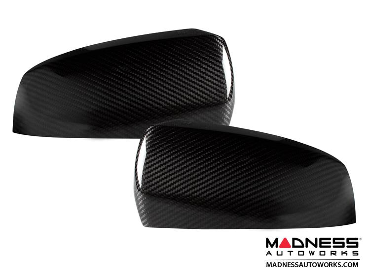 BMW X6 (E71)/ X5 (E70) Mirror Covers by Feroce - Carbon Fiber