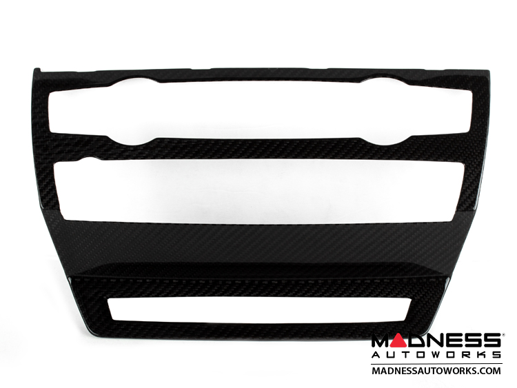 BMW X6 (E71) Radio Console Trim Kit by Feroce - Carbon Fiber